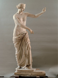 Statue of Aphrodite Type Capua  2nd Century  White Marble  Full Relief