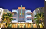 Mc Alpin Hotel on Ocean Drive in the Art Deco District of South Miami Beach in Miami  Florida  USA