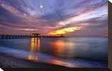 Pier on the Beach of Naples on the Gulf Coast  Florida  USA