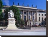 Humboldt University  Unter den Linden  Berlin  Germany