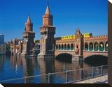 Oberbaum Bridge Spree  Berlin