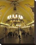 Metro Station Komsomolskaja  Moscow  Russia