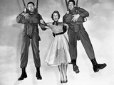 Mona Freeman  Jerry Lewis and Dean Martin in Jumping Jacks