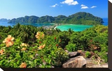 Isthmus with Bays and Beaches on Ko Phi Phi Don Island  Krabi  Thailand