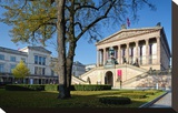 Old National Gallery  Alte Nationalgalerie  Museum Island  Berlin  Germany
