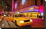Radio City Music Hall by Night  New York City  New York  USA