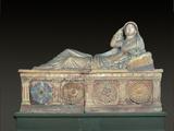 Terracotta Sarcophagus with Female Figure (Sarcophagus of Larthia Seianti)