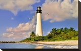 Lighthouse at Bill Baggs Cape  Key Biscayne  Florida  USA