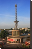 Radio Tower called Langer Lulatsch  meaning Lanky Lad  on the Exhibition Grounds in Berlin  Germany