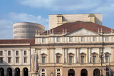 Views of the La Scala Theater After Its Restoration in 2004