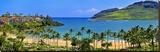 Kalapaki Bay at the Marriott Hotel  Lihue  Island of Kauai  Hawaii  USA