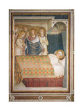 Scenes From the Life of St Martin the Dream of St Martin