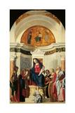 Pala Montini (Madonna with Child Among Sts John the Baptist