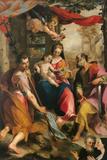 Madonna and Child with St Simon and St Jude (Madonna Di San Simone)