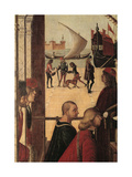 Legend of St Ursula the Arrival of the English Ambassadors (At the Court of Brittany)