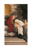 Madonna with Child with St Frances of Rome and Anm Angel