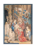 Adoration of the Magi  Tapestry of San Michele a Ripa  Maybe Rome