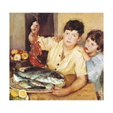 Children with Fishes (Bambini E Pesci)