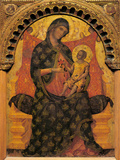 Madonna with Child Enthroned