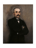 Portrait of Georges Benjamin Clmenceau