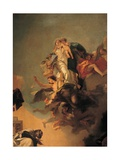 Our Lady of Mount Carmel Appearing to St Simon Stock detail by Giambattista Tiepolo  1743-49Italy