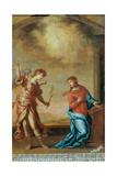 Trinity  Francesco Guardi  17th c San Rocco Oratory  Belluno  Italy