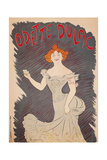 Poster for Actress Odette Dulac