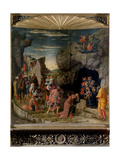 Uffizi Triptych Adoration of the Magi