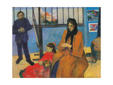 Schuffenecker Family  by Paul Gauguin  1889 Musee d'Orsay  Paris  France