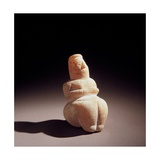 Neolithic Mother Goddess  c 6000 BC National Archaeological Museum  Cagliari  Sardegna  Italy