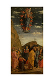Uffizi Triptych Ascension of the Christ