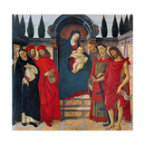 Madonna with Saints (Altarpiece of Trebbio)