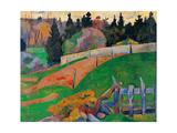 Fence  by Paul Serusier  1890 Musee d'Orsay  Paris  France