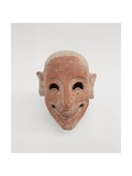 Terracotta Male Mask  6th Century BC Whitaker Museum  Mozia  Sicily  Italy