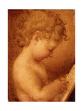 Little Putto Praying or Young Boy Reading  copy from Correggio  16th c Capodimonte Museum