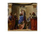 San Zaccaria Altarpiece  Madonna Enthroned with Saints