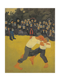 Fight  by Paul Serusier  1890-91 Musee d'Orsay  Paris  France