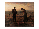 Angelus  by Jean-Francois Millet  1859 Musee d'Orsay  Paris  France