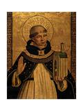 St Thomas Aquinas Presenting the Model of a Church