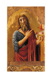Cagli Polyptych  St John the Baptist