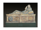 Etruscan Sarcophagus of Larthia Seianti  2nd c BC Archaeological Museum  Florence  Italy