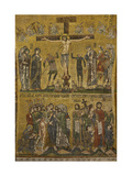 Crucifixion Arrest and Derision Central dome & Arch St Mark's Basilica  Venice 10th c