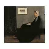 Arrangement in Gray and Black No 1 (Whistler's Mother)