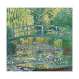 Waterlily Pond Green Harmony  by Claude Monet  1899 Musee d'Orsay  Paris  France