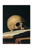 St Jerome (Detail of skull)