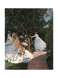 Women in the Garden  by Claude Monet  1866 - 1867 Musee d'Orsay  Paris  France