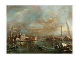 Bacino di San Marco with San Giorgio and the Giudecca  by Francesco Guardi  1774 Accademia Venice