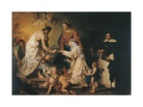 Mystic Marriage of St Caterina de Ricci