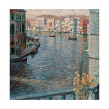 Grand Canal in Venice  by Umberto Boccioni  1907 Private Collection  Venice  Italy