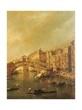Rialto Bridge and the Riva del Vin (Venice)